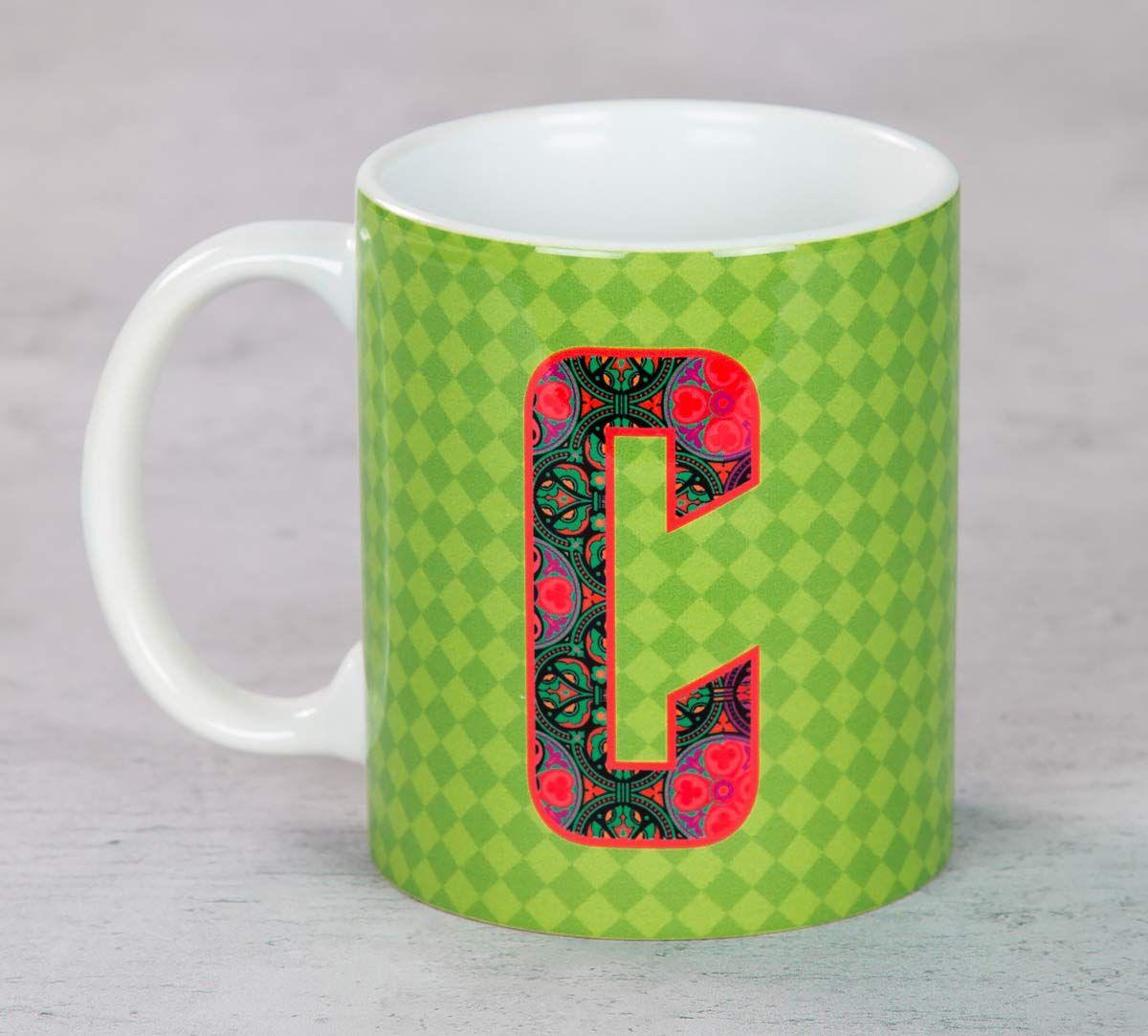 India Circus Cool Alphabet C Mug