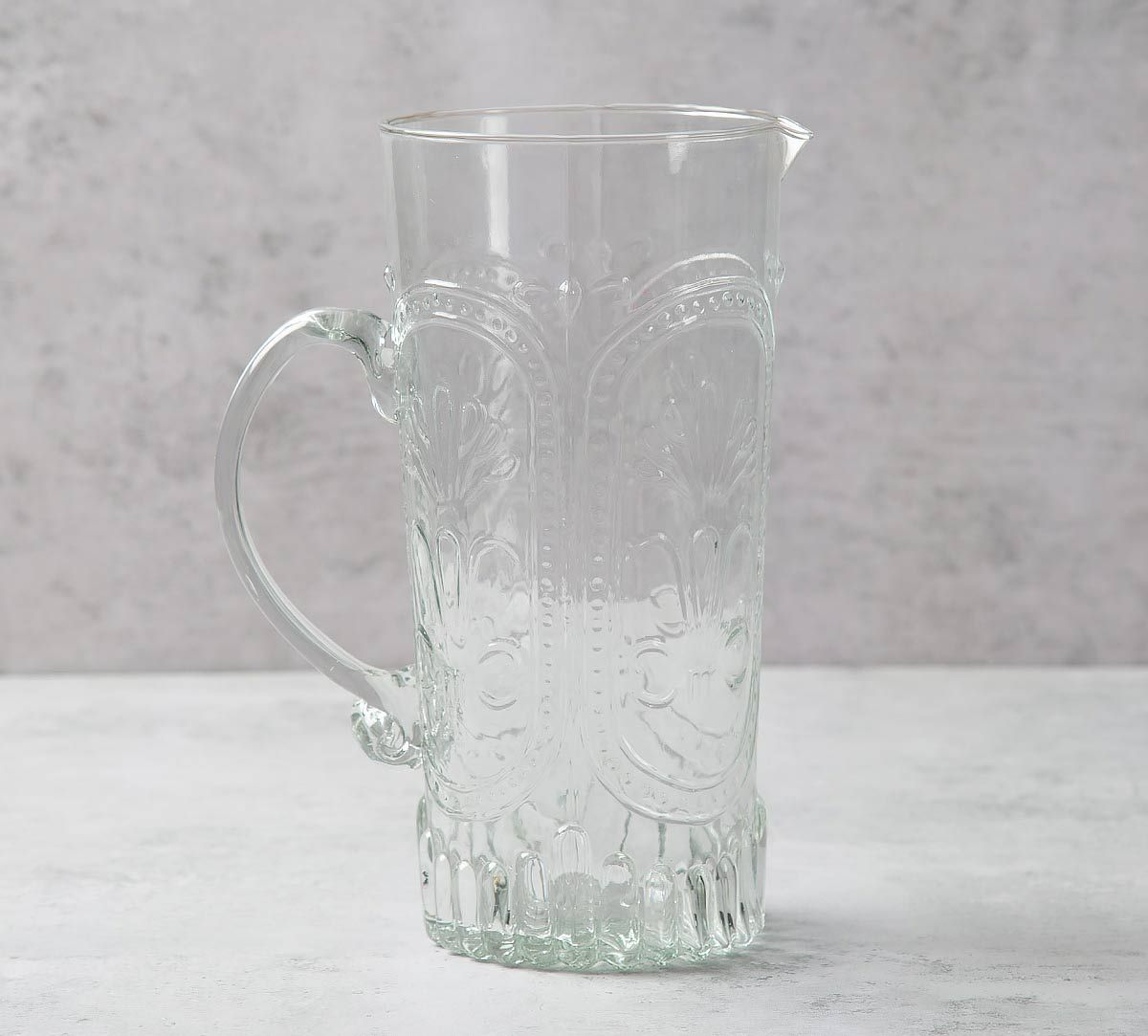 India Circus Crystal Glass Jug