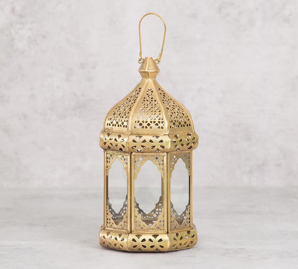 India Circus Dome Iron Candle Lantern