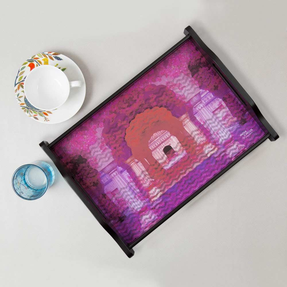 India Circus Doorway to heaven Tray