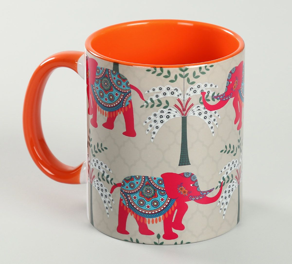 India Circus Elephanta Eclipse Coffee Mug