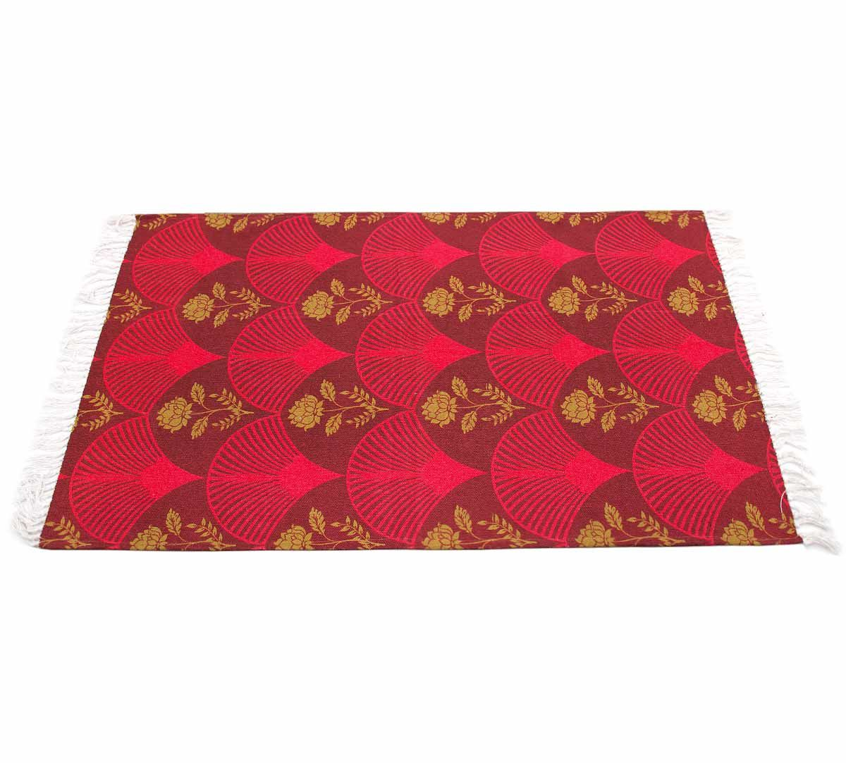 India Circus Fans of Blossom Rug