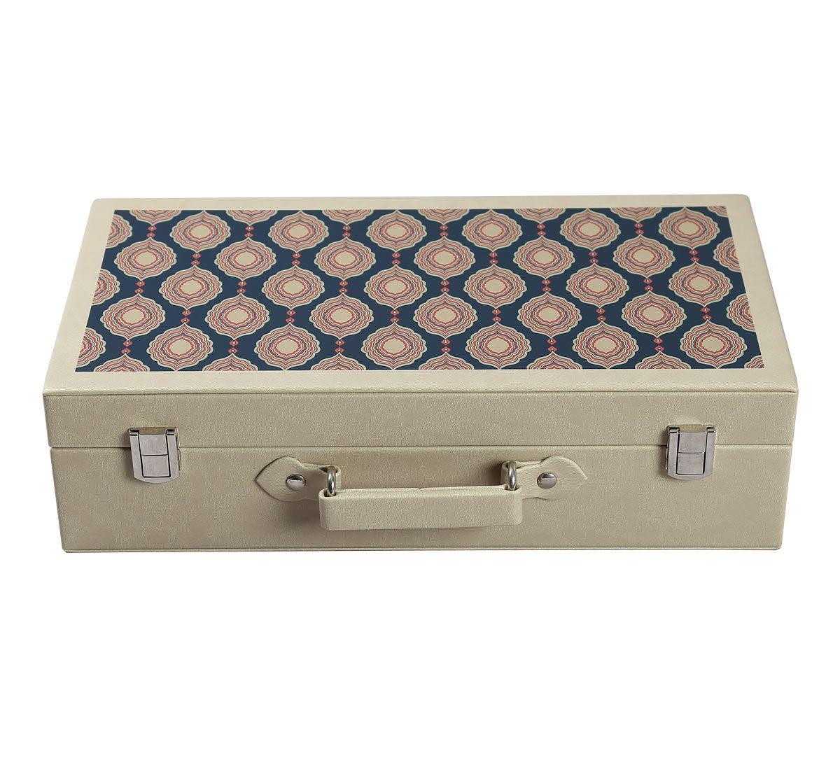 India Circus Fauna Darbar Leather Watch and Eyewear Box
