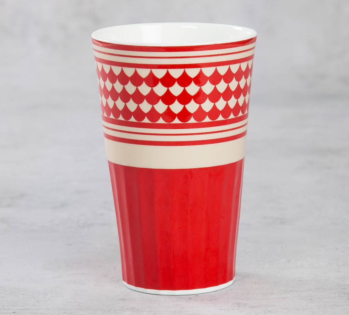 India Circus Fenced Sepals Mystery Tall Tumbler