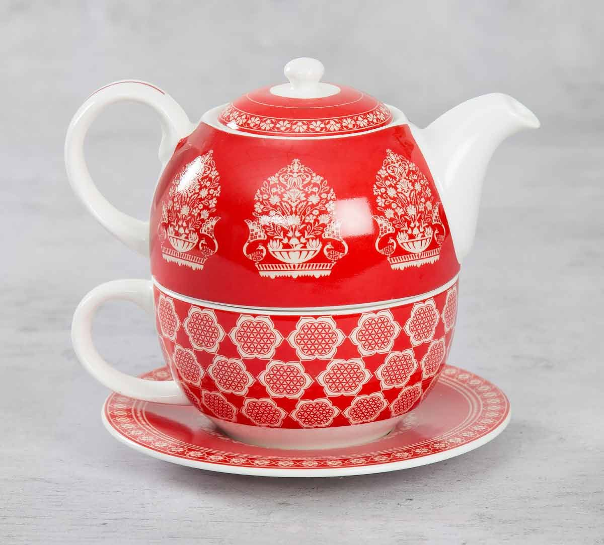India Circus Fenced Sepals Mystery Tea for One