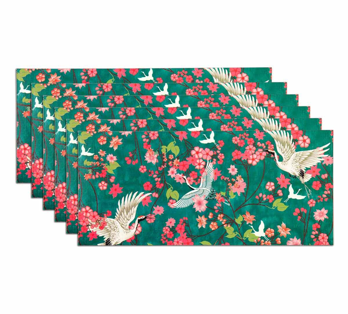 India Circus Flight of Cranes Gift Envelope Set of 6