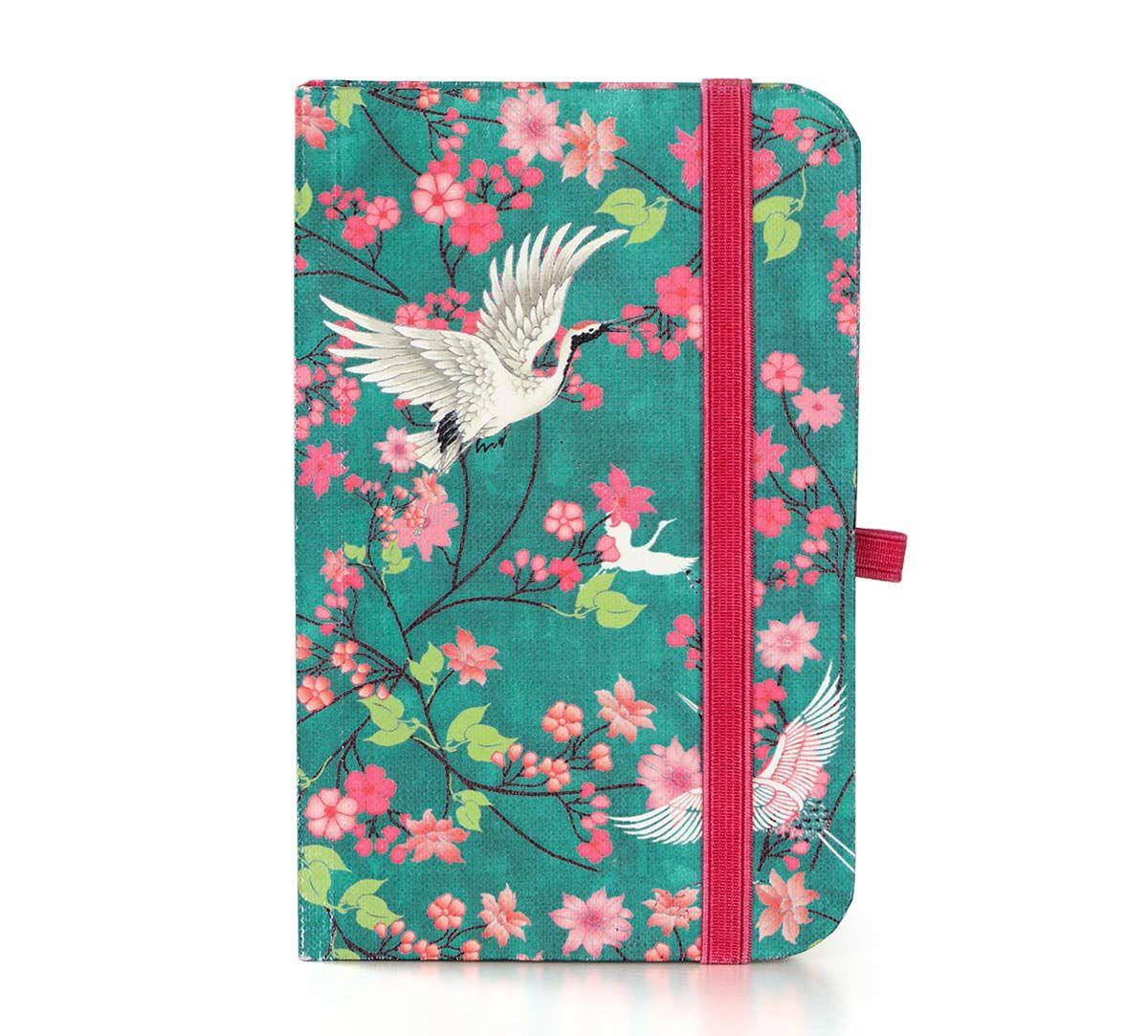 India Circus Flight of Cranes Pocket Diary