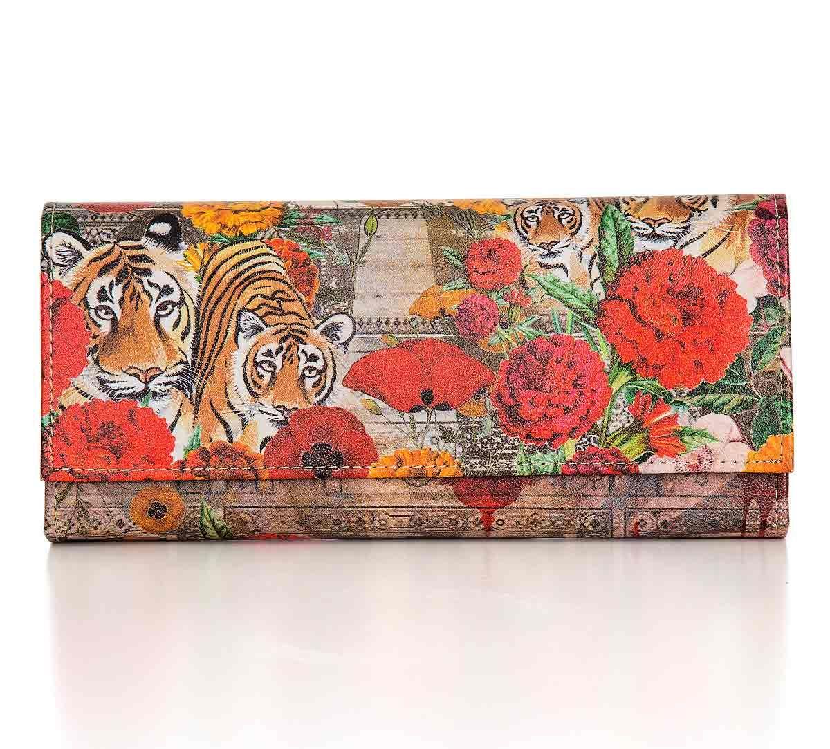 India Circus Floral Burst Ladies Wallet