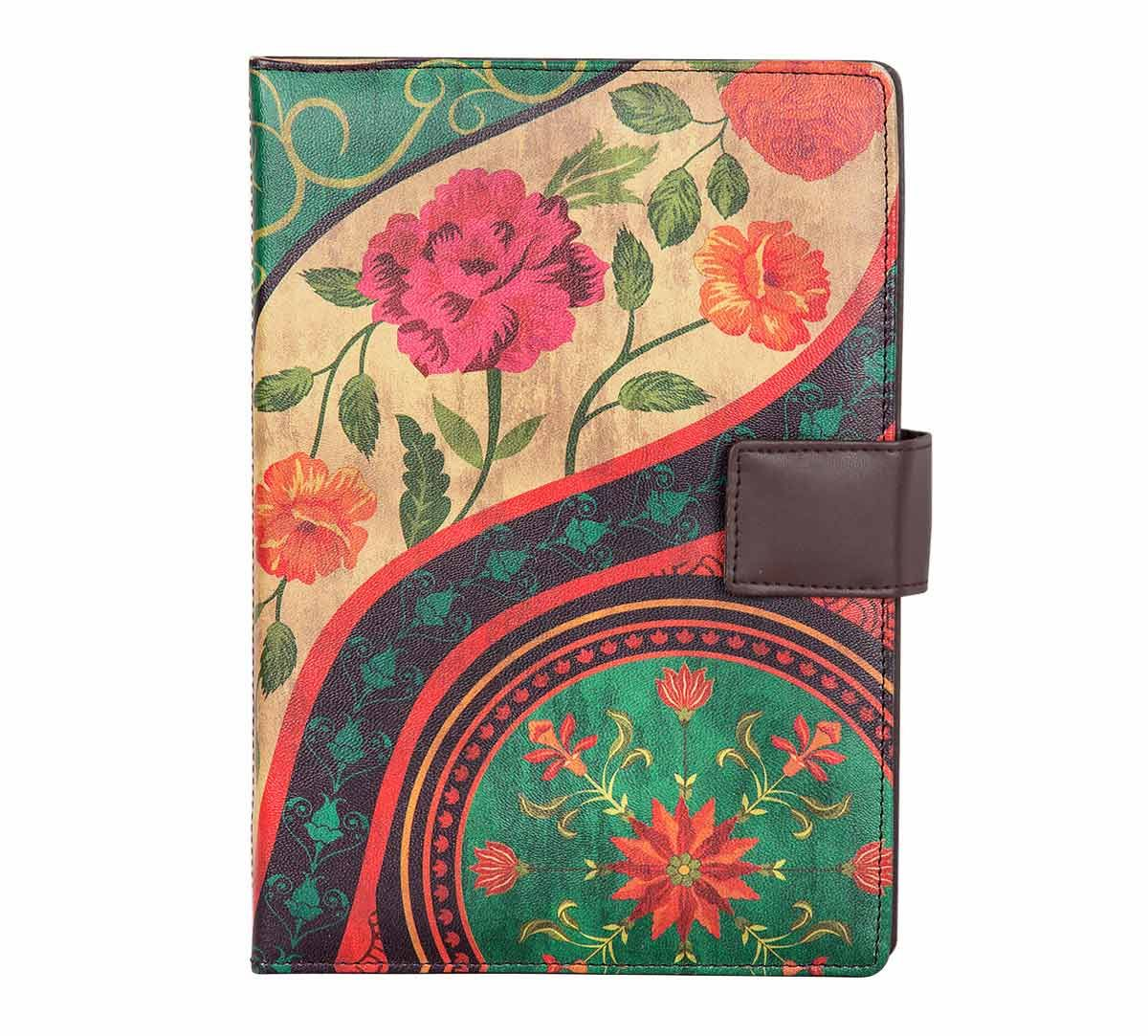 India Circus Floral Embroidery Notebook Planner