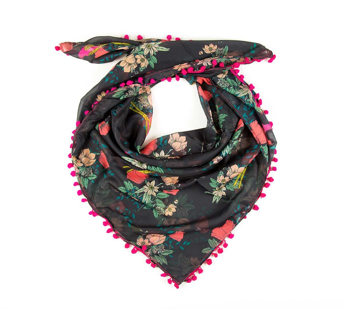 India Circus Floral Fascination Stole
