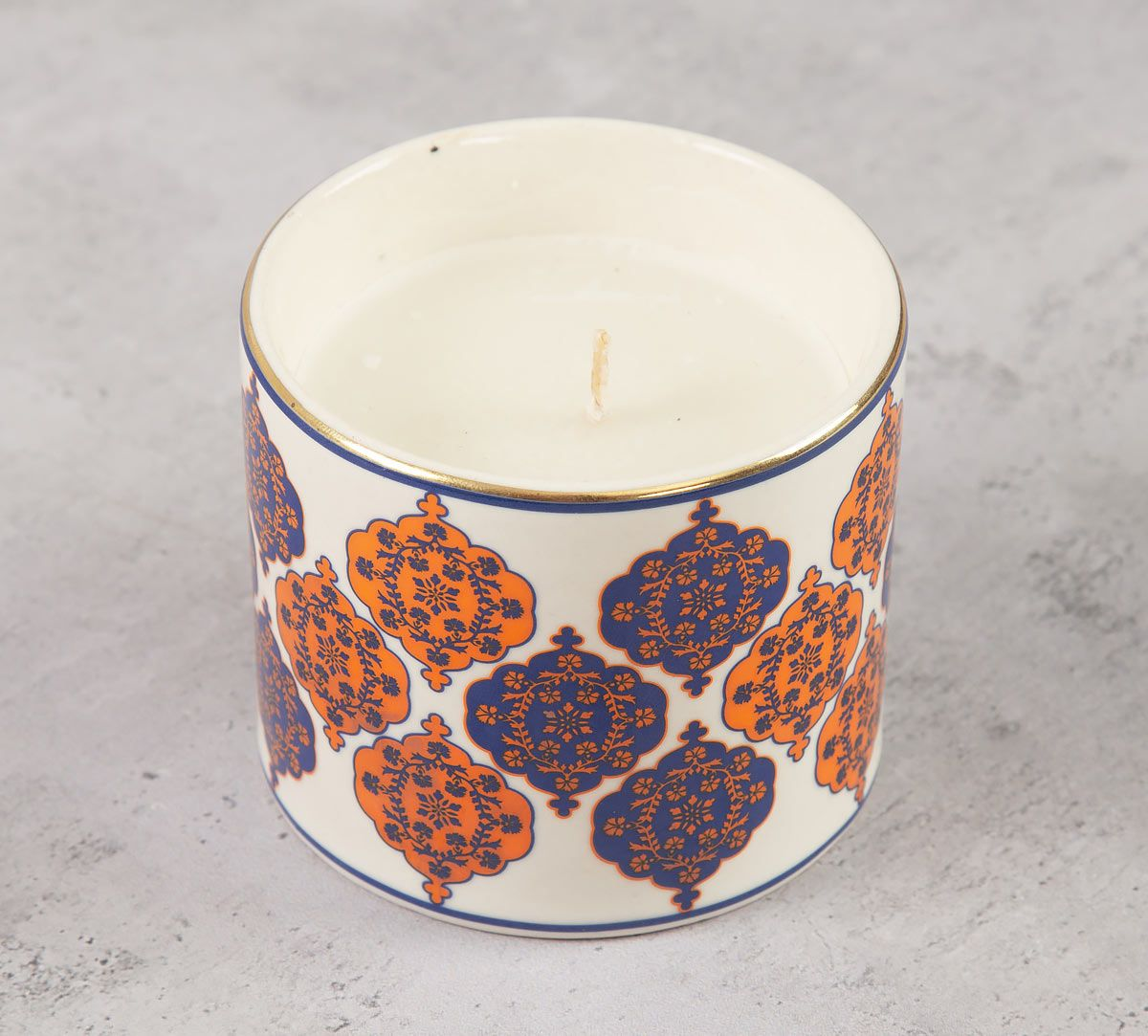 India Circus Floral Hypnosis Candle Votive