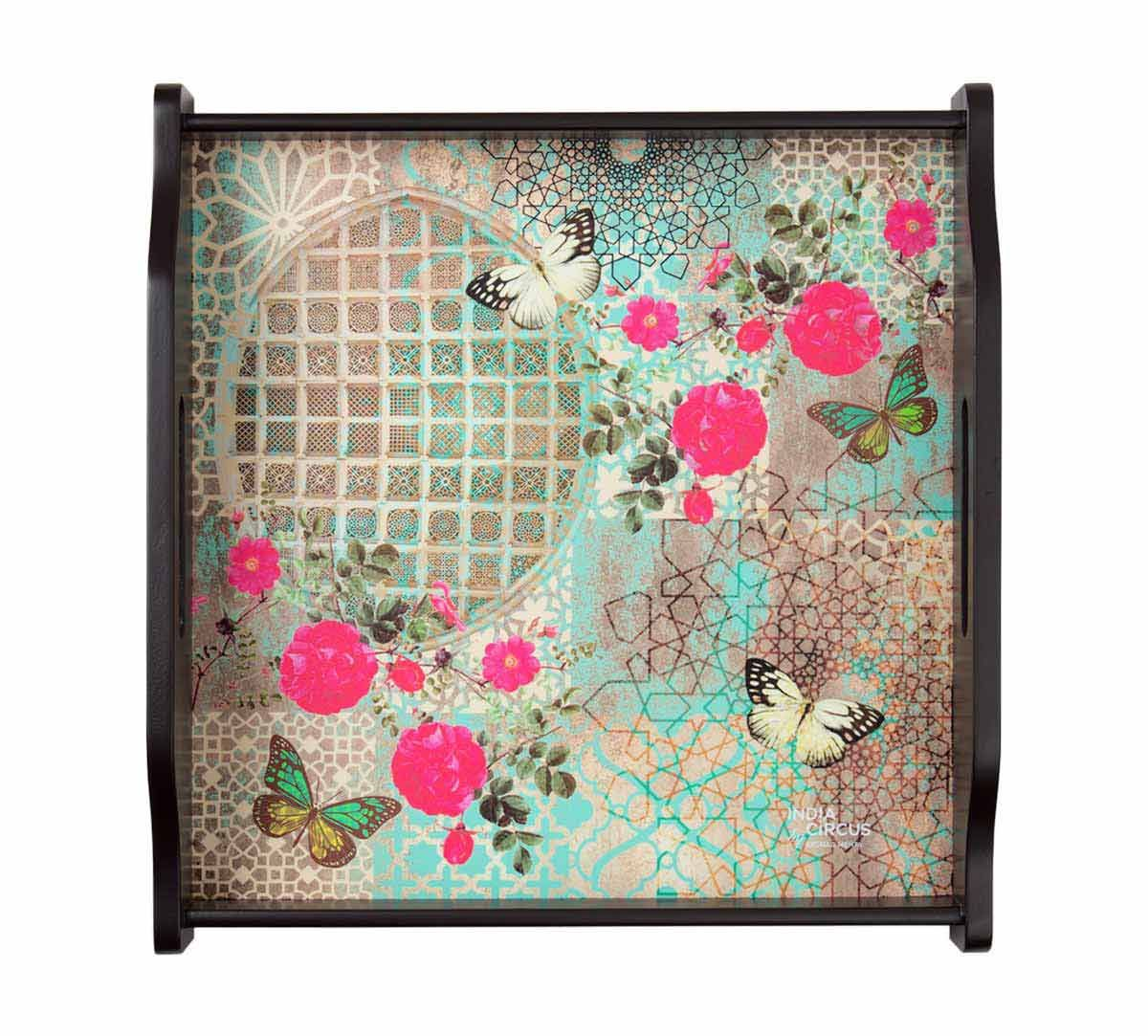 India Circus Floral Trance Tray
