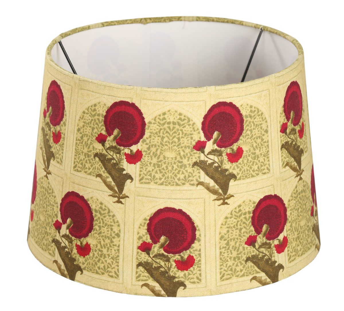 India Circus Flower Regalia Conical Lamp Shade