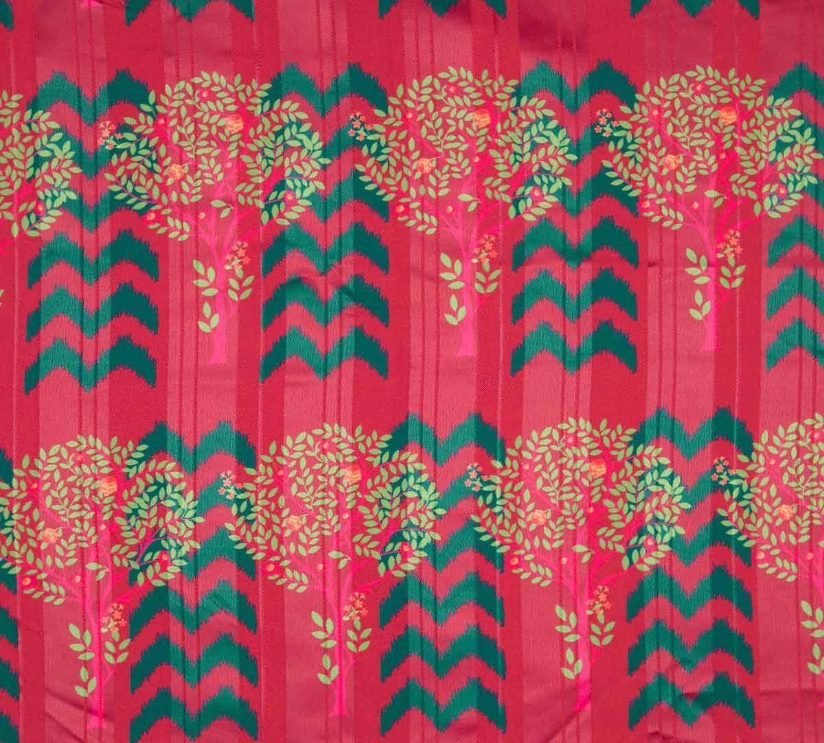 India Circus Flutter Tree Shower Curtain Tap To Expand