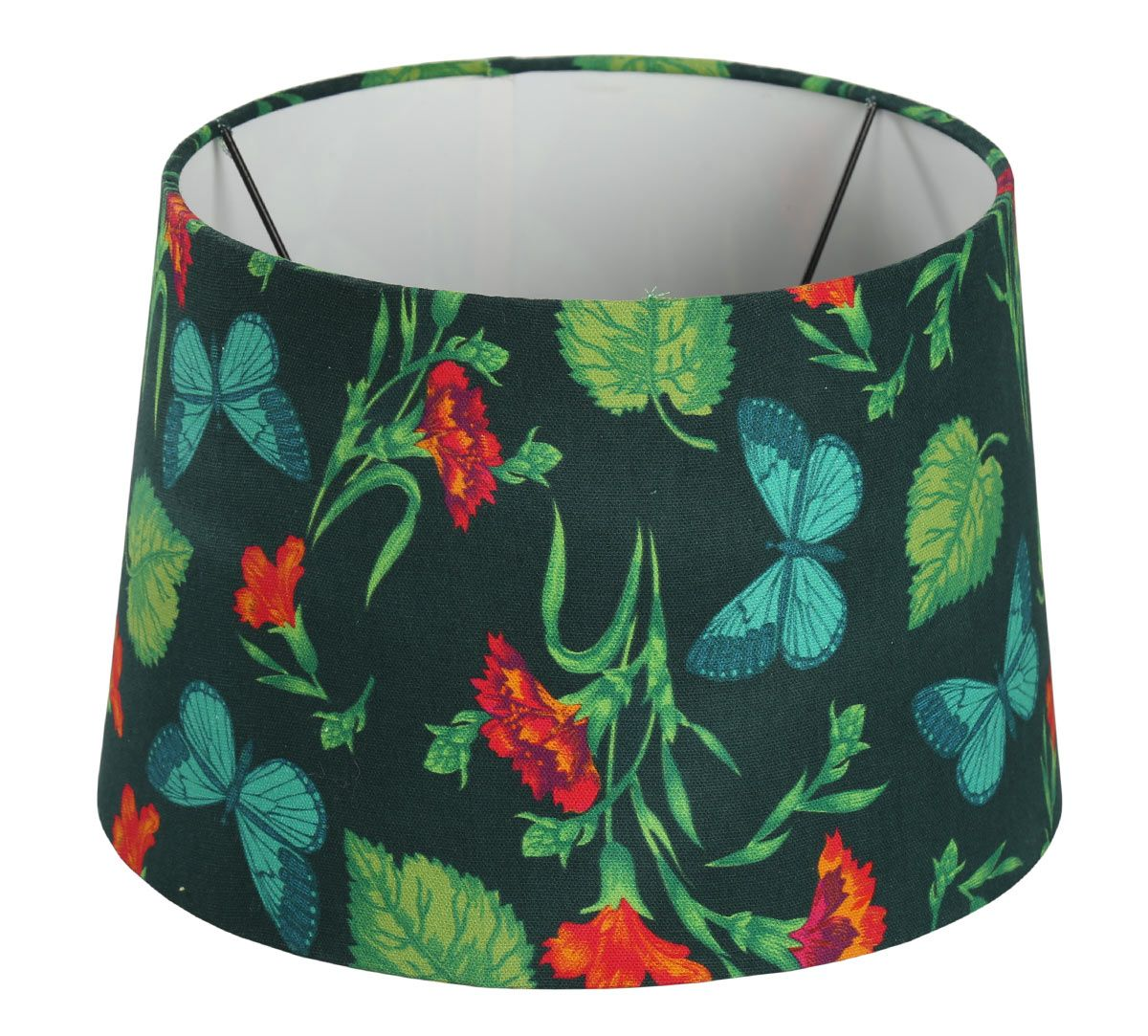 India Circus Fluttering Extravagance Conical Lamp Shade