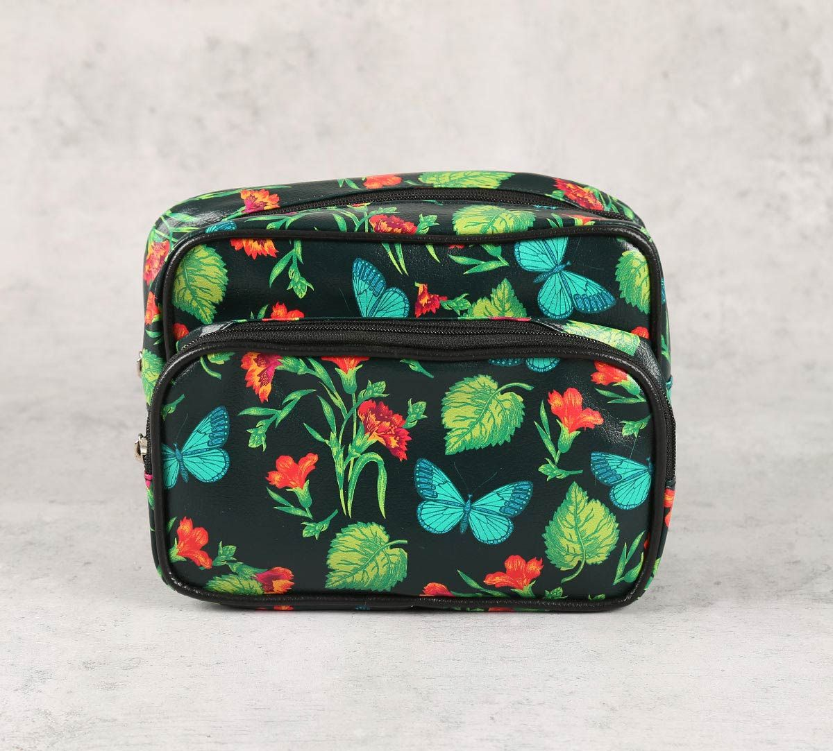 India Circus Fluttering Extravagance Utility Pouch