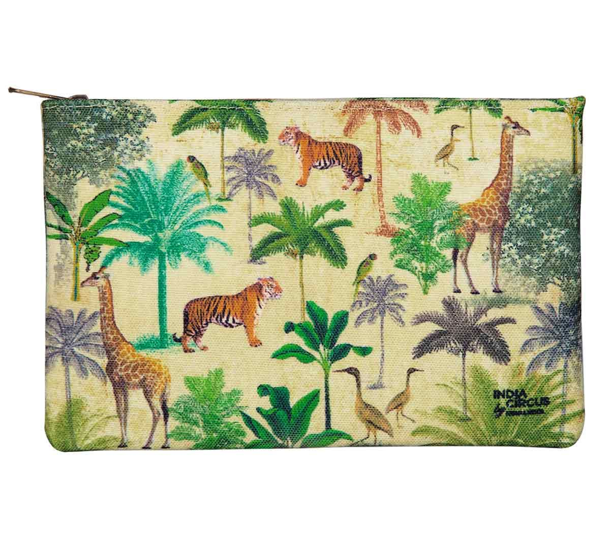 India Circus Forest Dominion Makeup Pouch