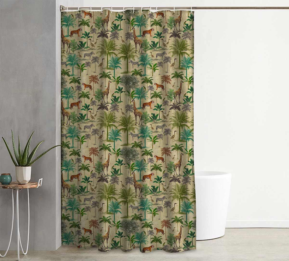 India Circus Forest Dominion Shower Curtain Tap To Expand