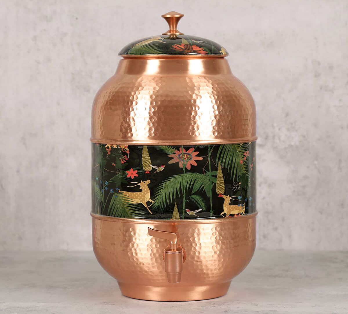 India Circus Forest Fetish Copper Water Dispenser
