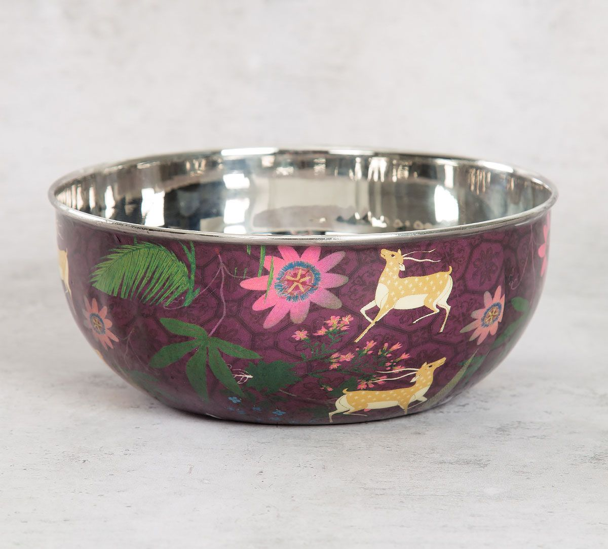 India Circus Forest Fetish Serving Bowl