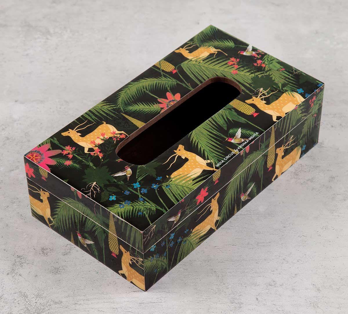 India Circus Forest Fetish Tissue Box Holder