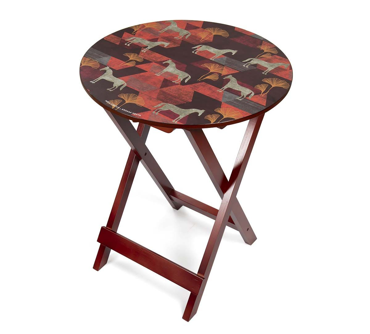 India Circus Gallant Gypsy Round Side Table