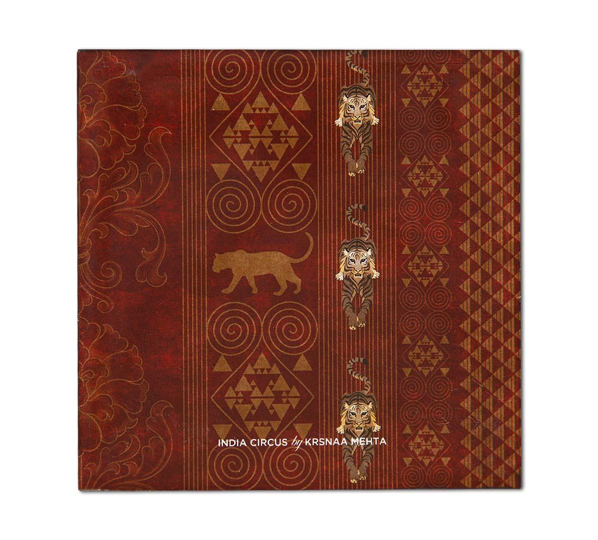India Circus Geometrical Empress Table Coaster