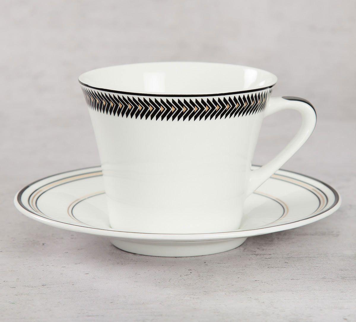 India Circus Geometrical Tara Cup & Saucer
