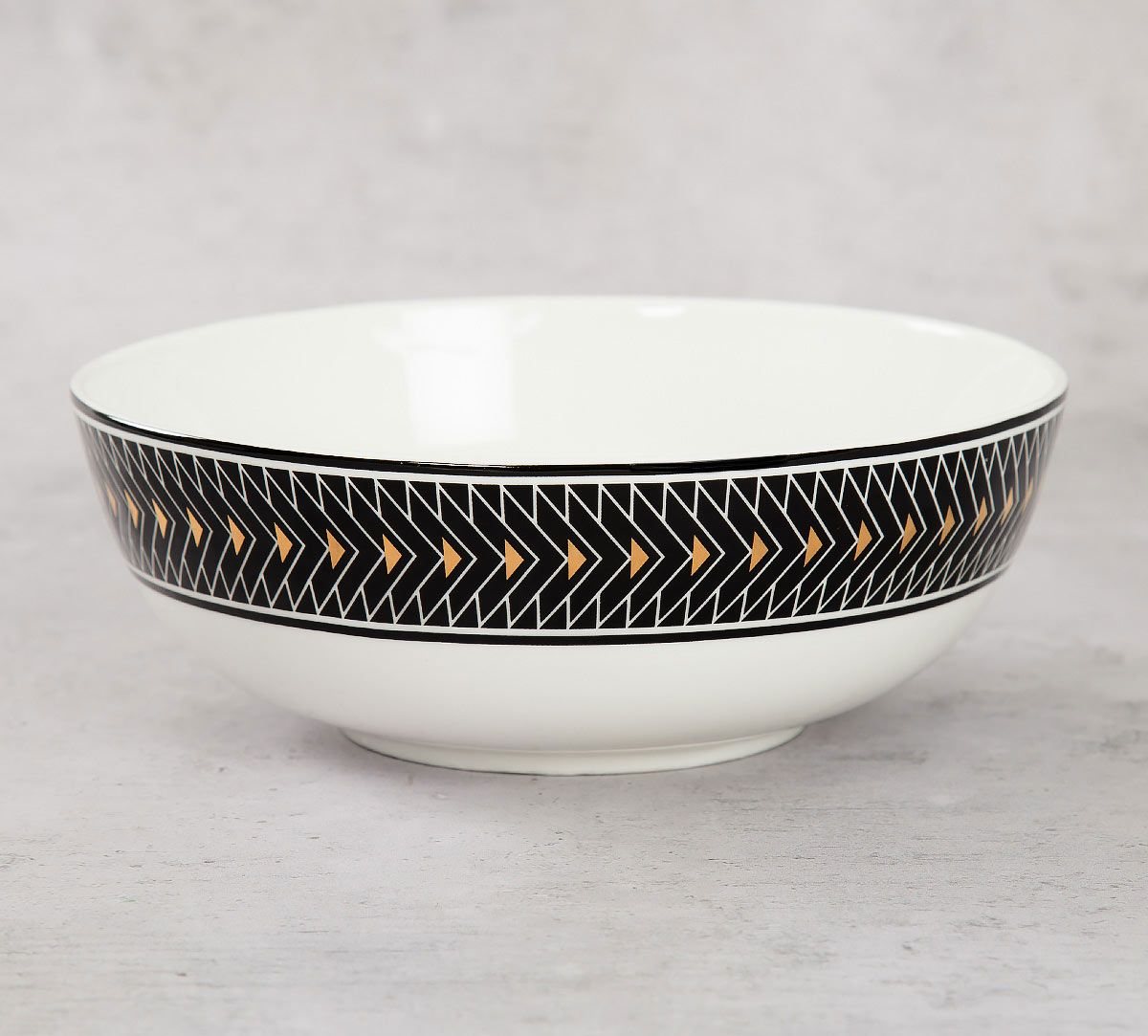 India Circus Geometrical Tara Serving Bowl