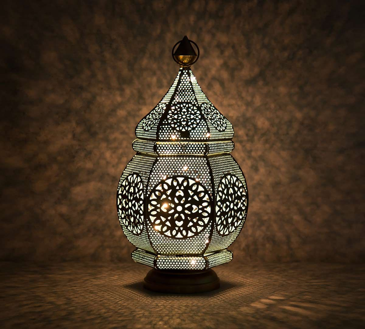 India Circus Hanging Iron Decorative Lantern