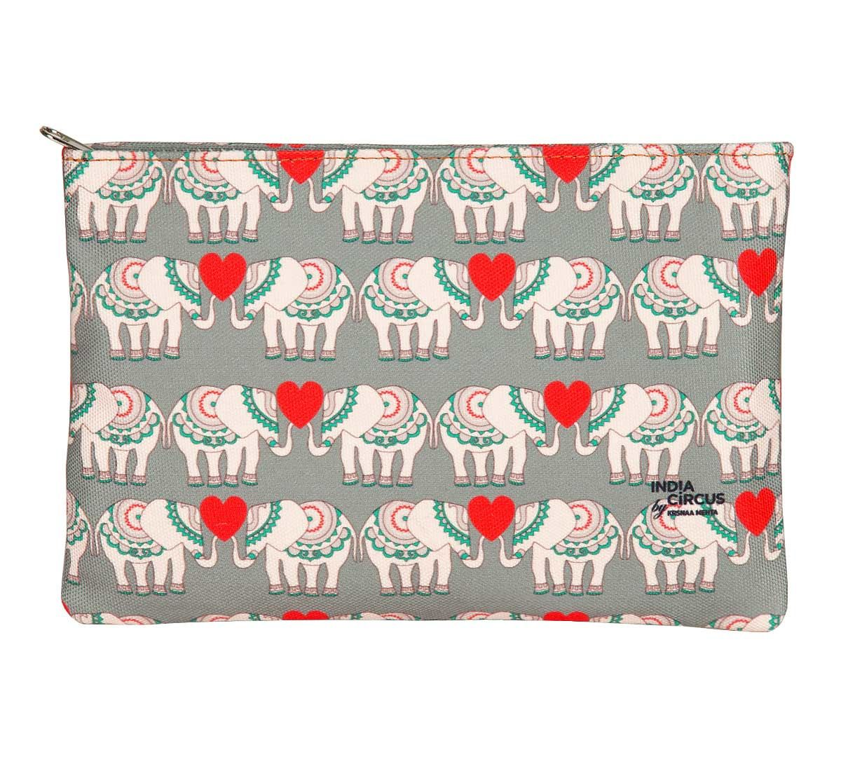 India Circus Heart Tusker Utility Pouch