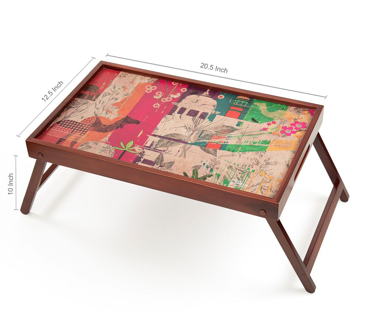 India Circus India Story Breakfast Tray