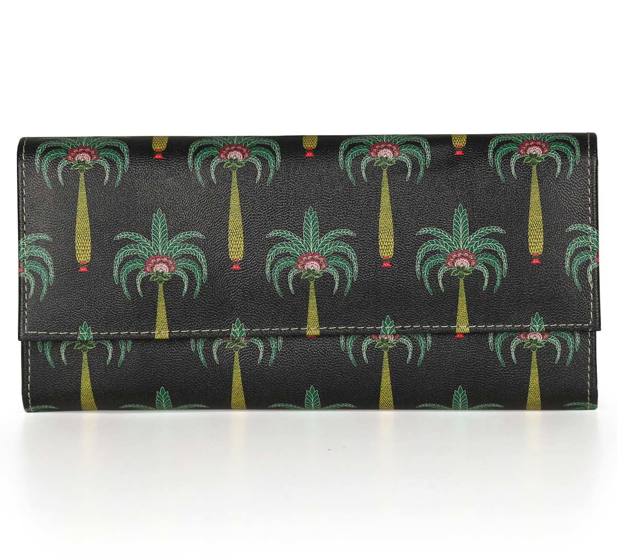 India Circus Island Palms Ladies Wallet