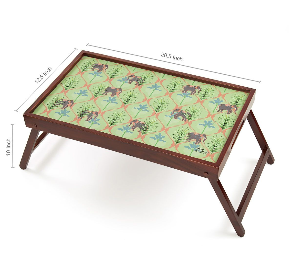 India Circus Jungle Safari Breakfast Tray