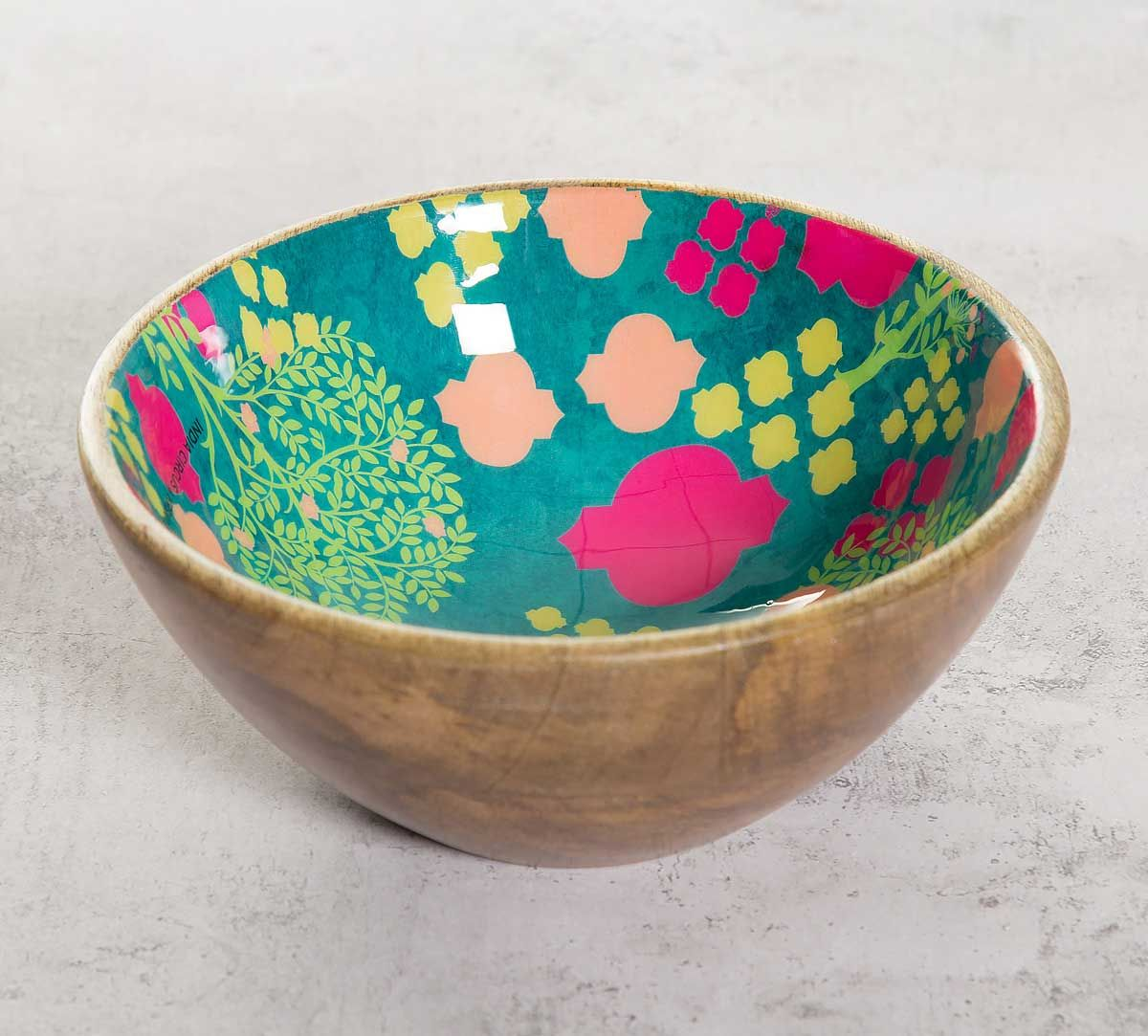 India Circus Lattice Overload Serving Bowl