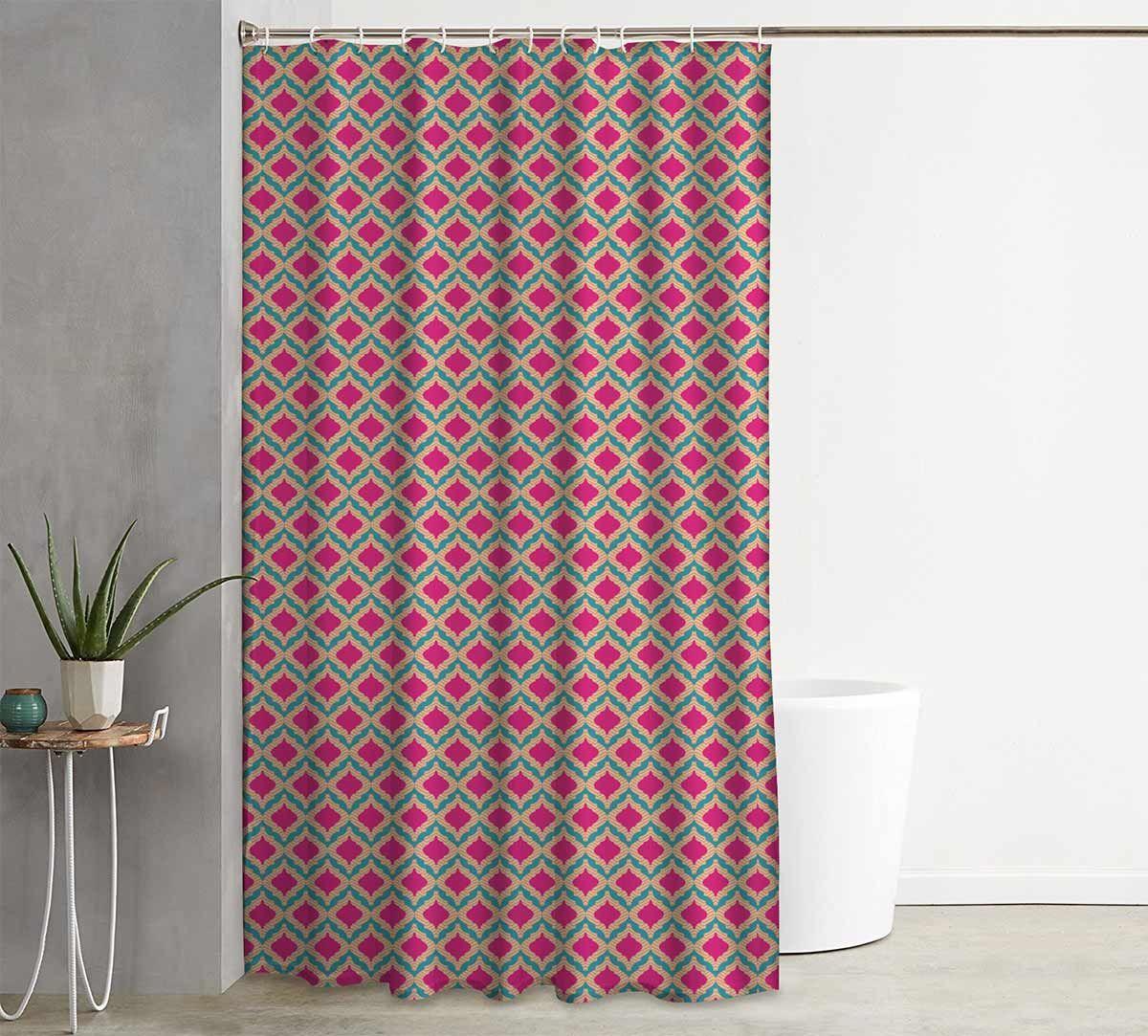 India Circus Lattice Practice Shower Curtain