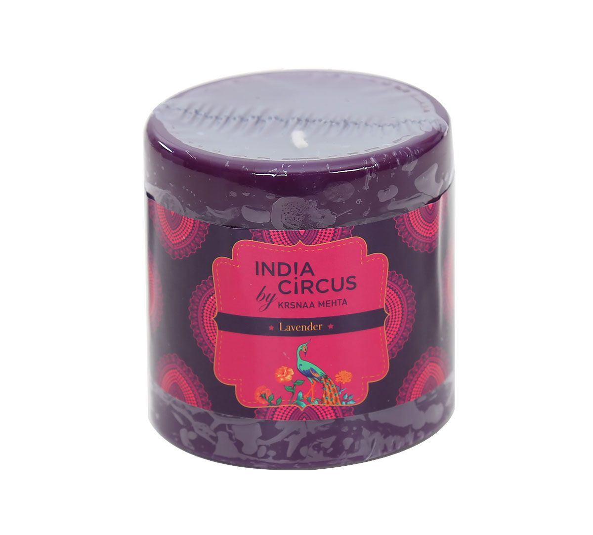 India Circus Lavender Drum Candle