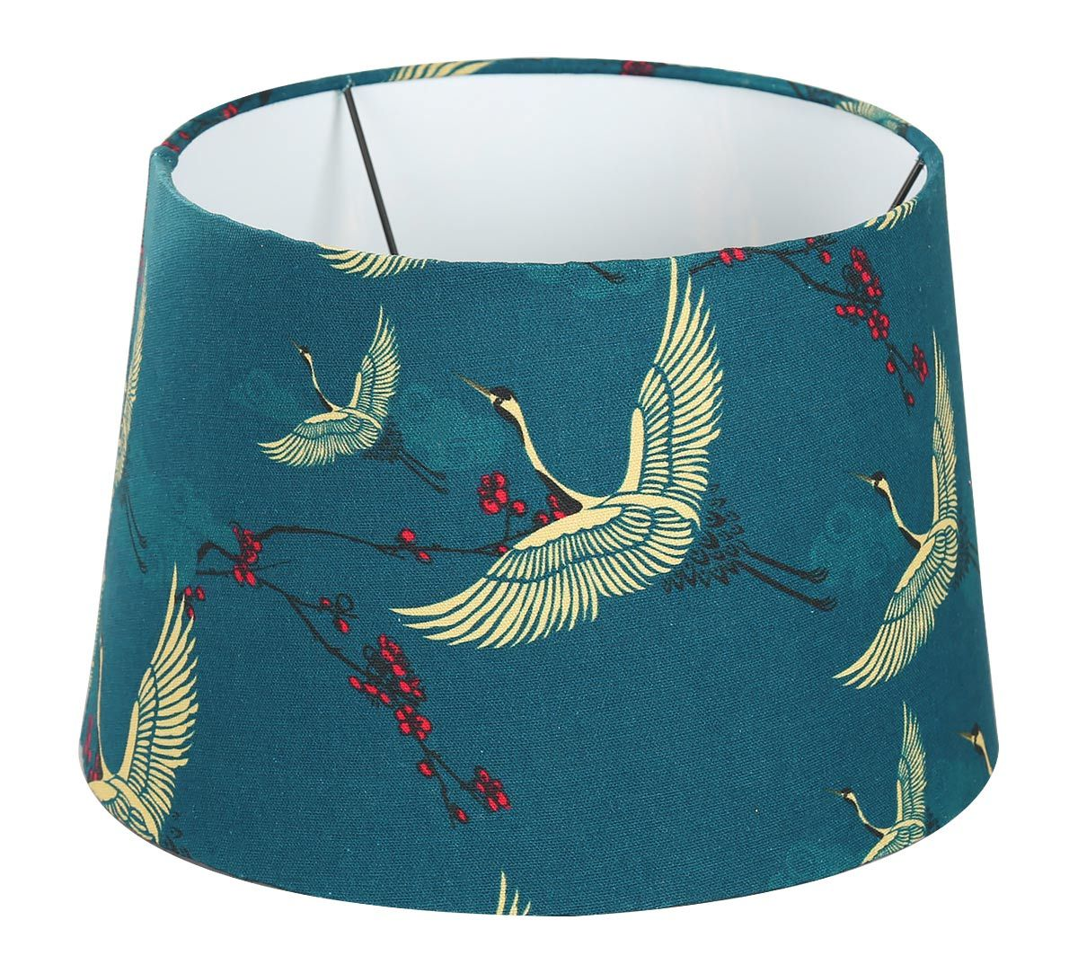 India Circus Legend of the Cranes Conical Lamp Shade