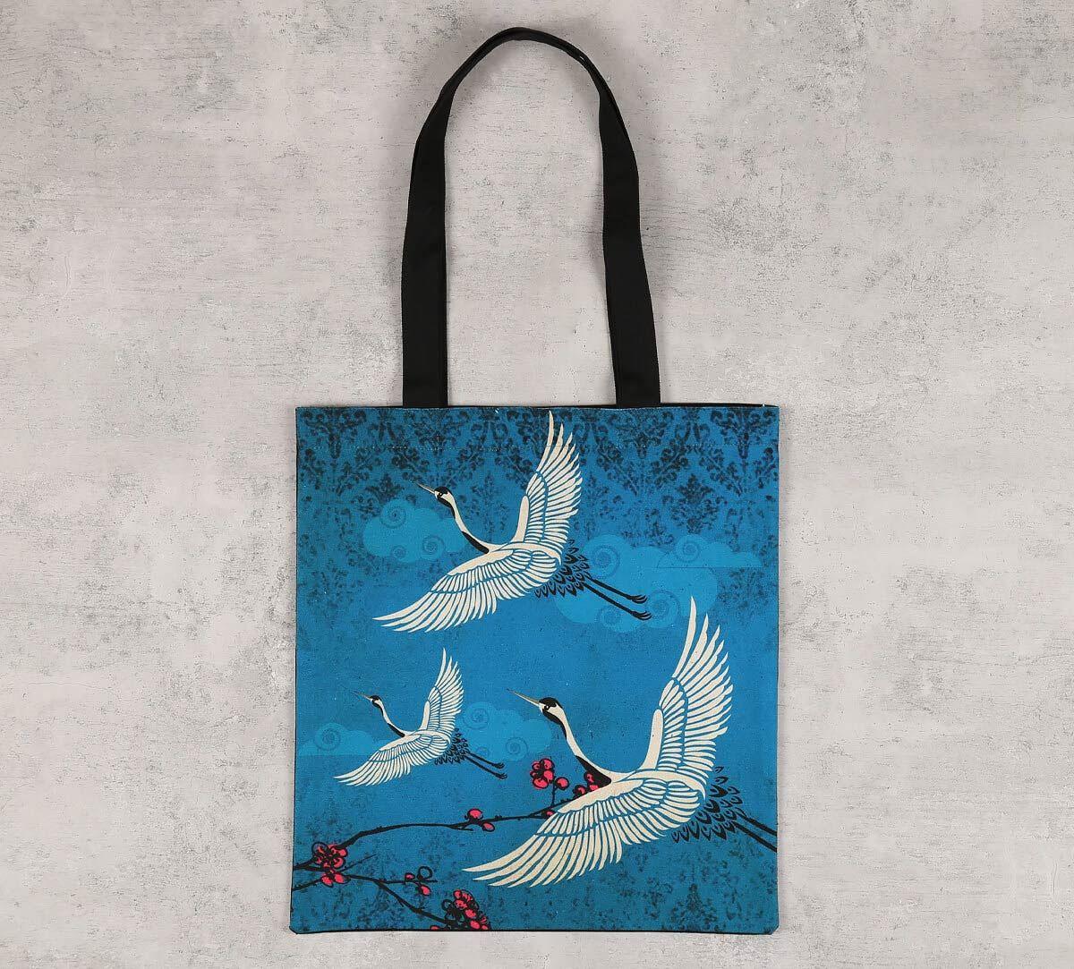 India Circus Legend of the Cranes Jhola Bag