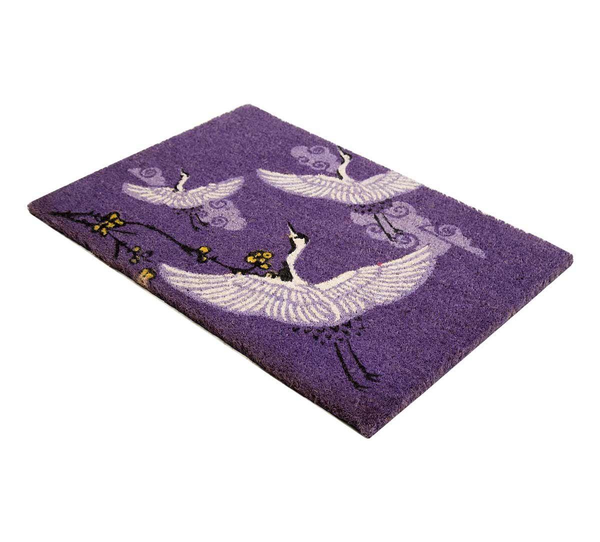 India Circus Legend of the Cranes Violet Doormat