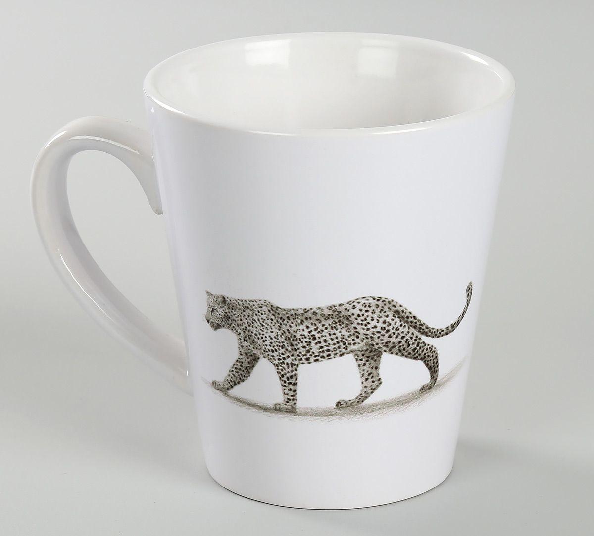 India Circus Leopard Valley Coffee Mug