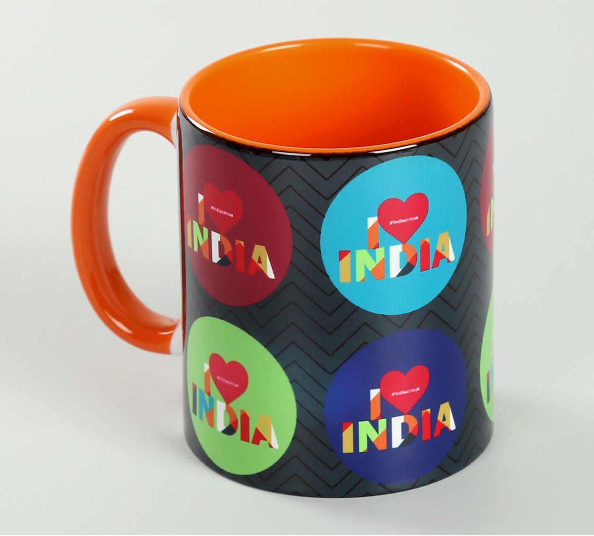 India Circus Love IC Coffee Mug