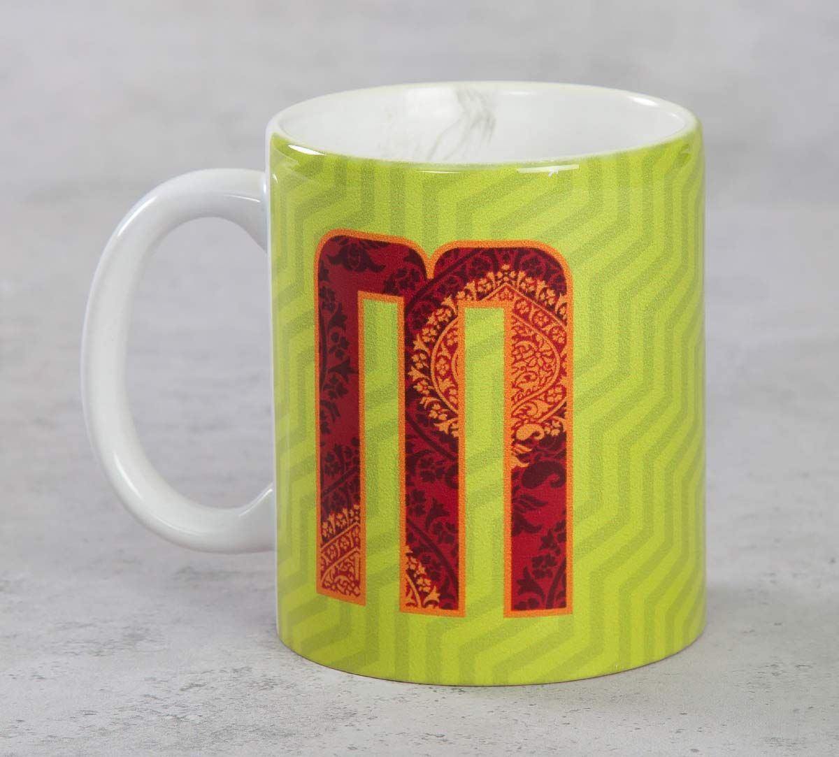 India Circus Magnificent Alphabet M Mug