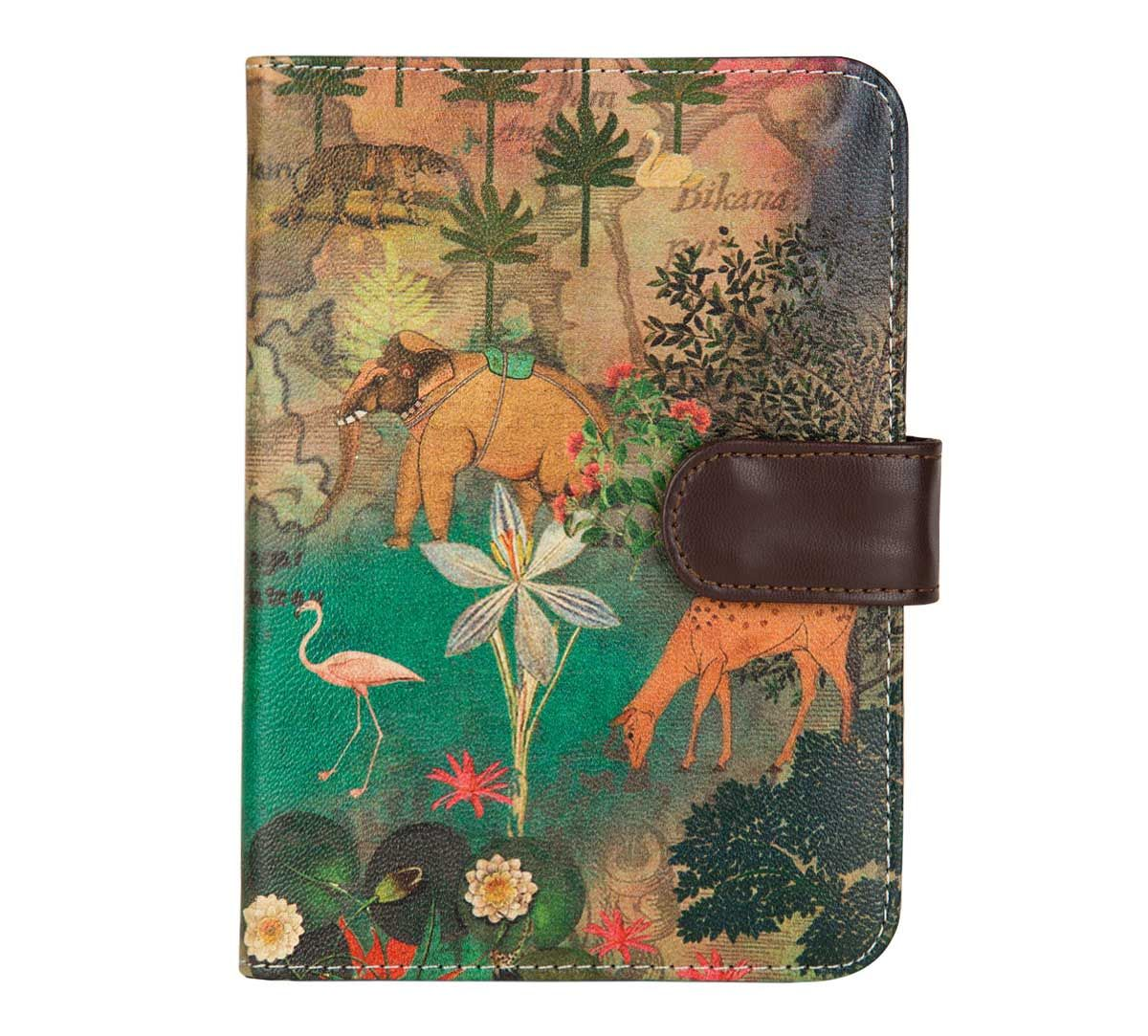 India Circus Mapping Animals Passport Cover