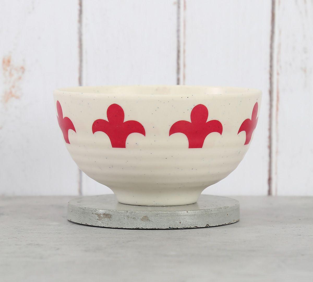 India Circus Masquerade Glimpse Soup Bowl