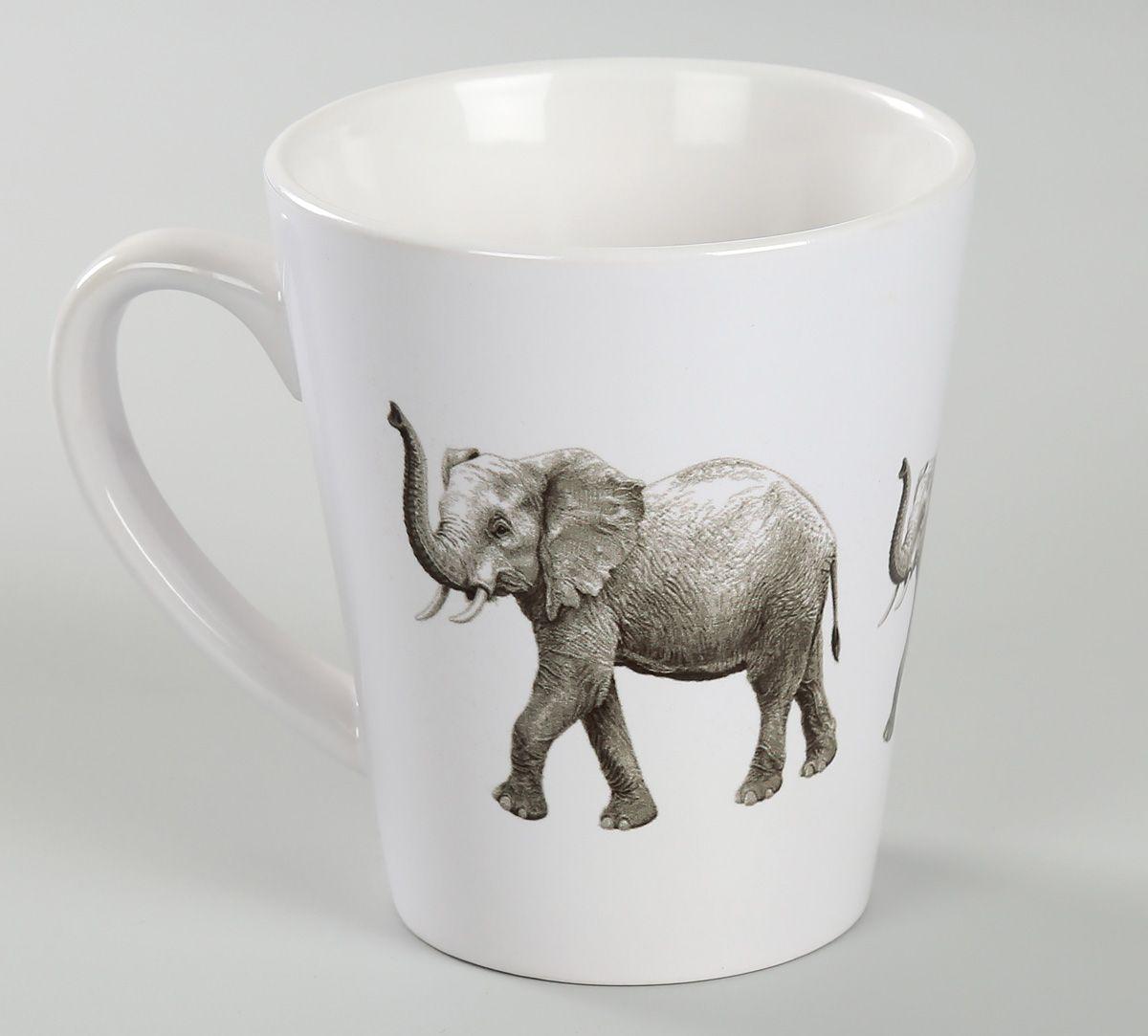 India Circus Mastodon Lift Coffee Mug