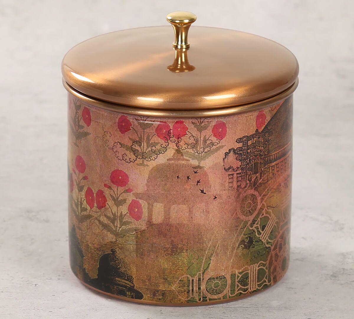 India Circus Medieval Majesty Storage Jar