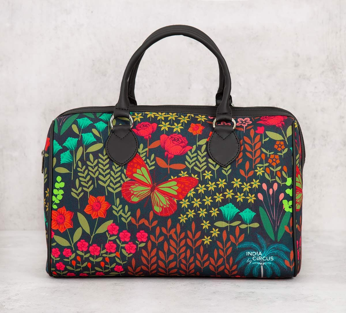 India Circus Mimosa Florals Duffle Bag