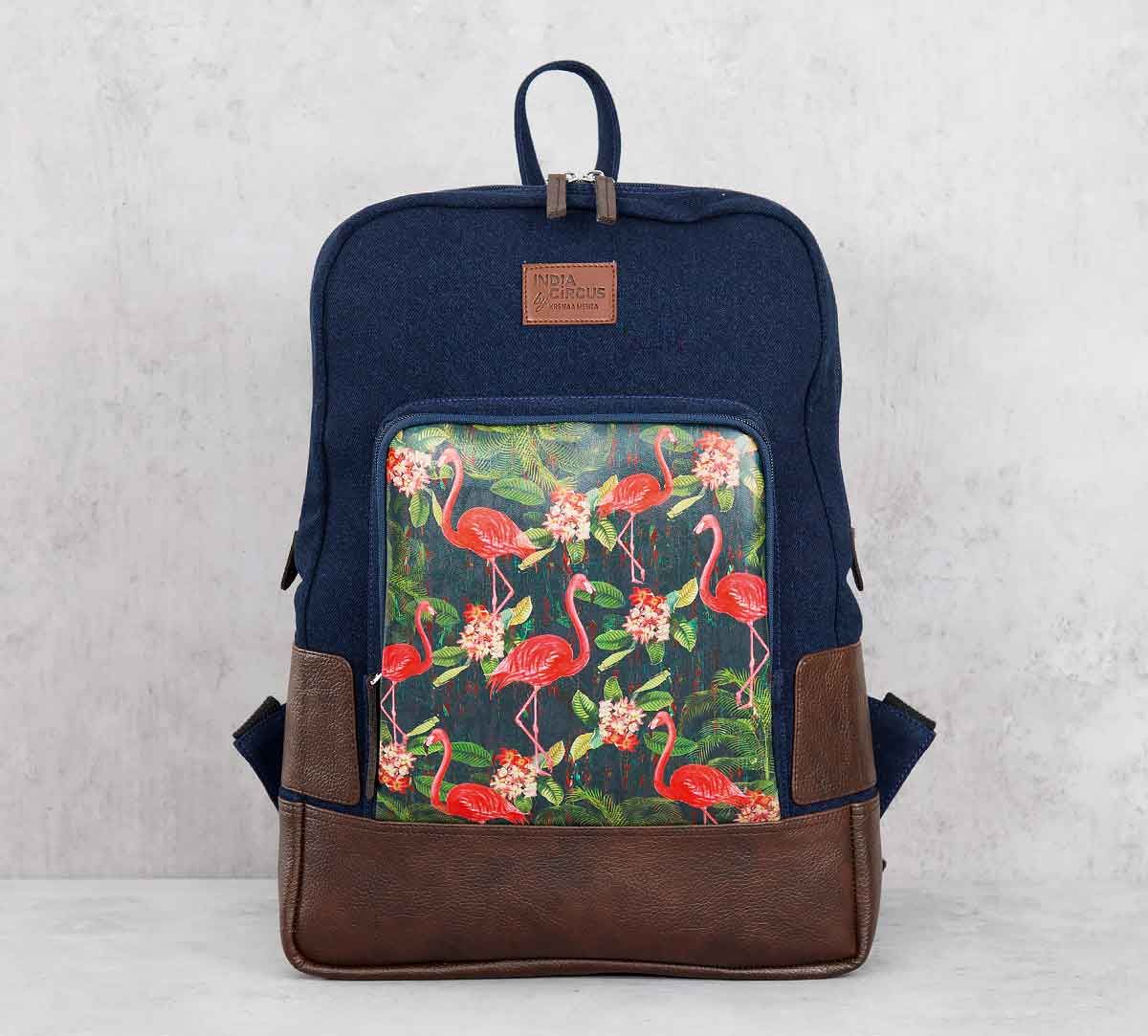 India Circus Moksha Hansa Denim Backpack