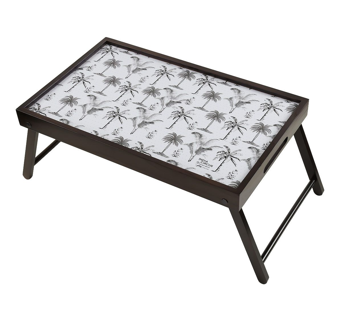 India Circus Monochrome Palms Breakfast Tray